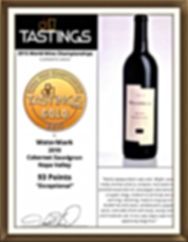 BTI TASTINGS scores WaterMark 93 Points