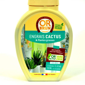 engrais cactus  & plantes grasses 250 ml