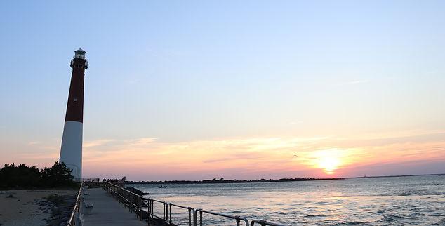 Barnegat Lighthouse Sunset, Long Beach Island, LBI, New Jersey, Ono Vita