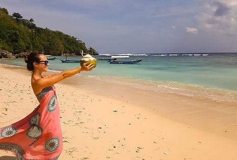 Padang Padang Beach, Coconut, Bali, Indonesia, Uluwatu, Ono Vita