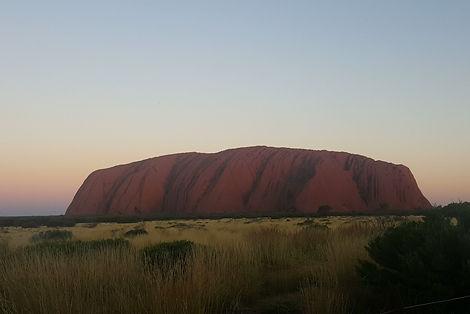 uluru, australia, ono vita