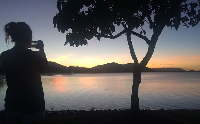 Visit the Great Barrier Reef. Cairns Sunset