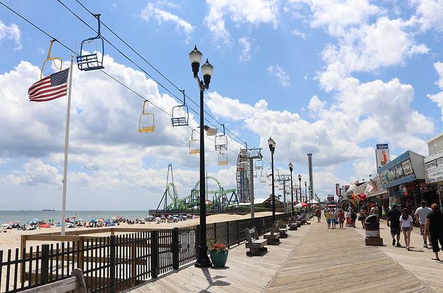 Seaside Heights Boardwalk, New Jersey, Ono Vita