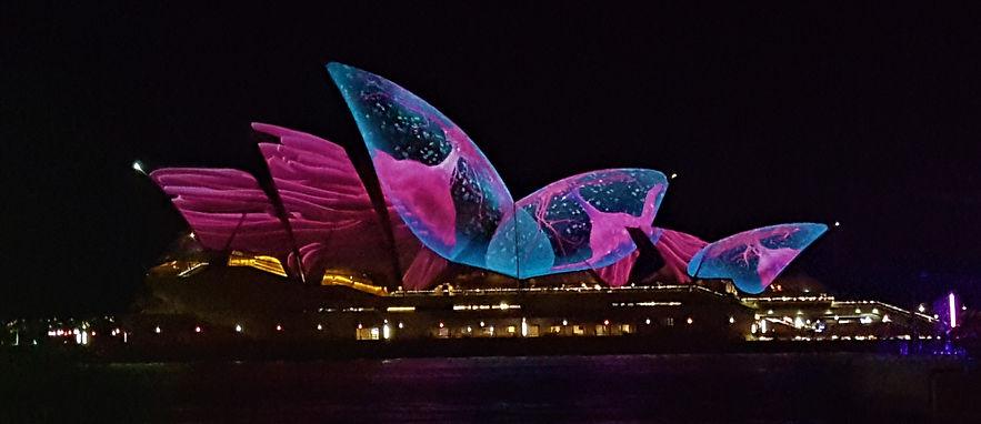 opera house vivid sydney australie ono vita