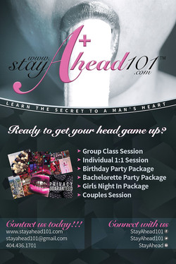 StayAhead Flyer - Front