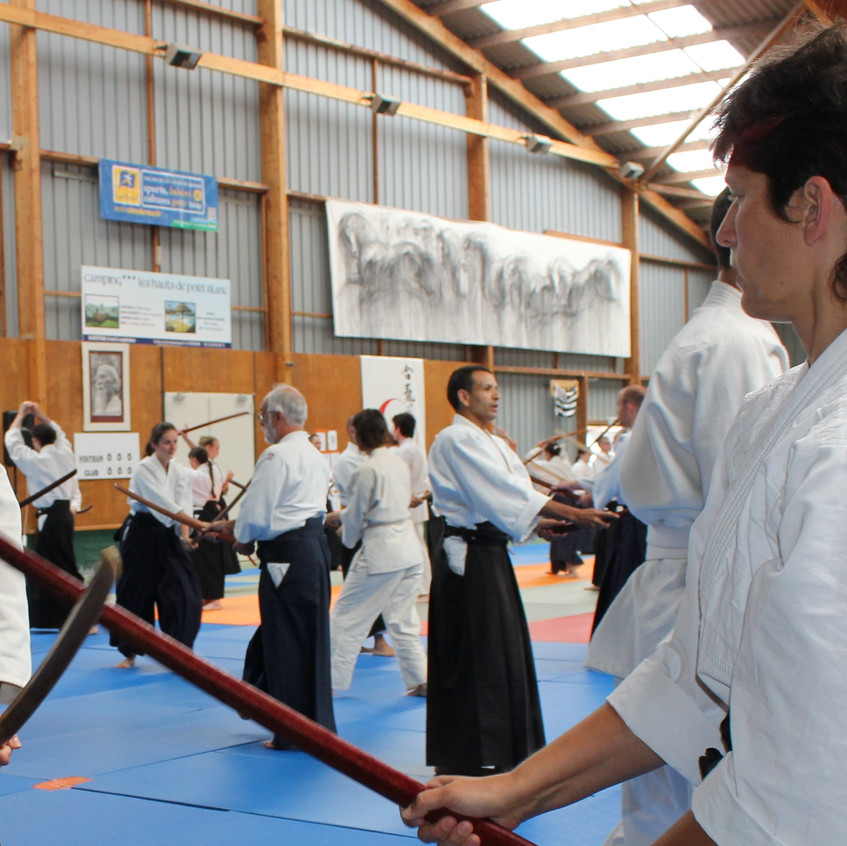 L'aïkido d'Alain Peyrache s'exporte en Bretagne