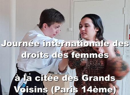 Journée internationale des droits des femmes à la citée des Grands Voisins (Paris 14ème)