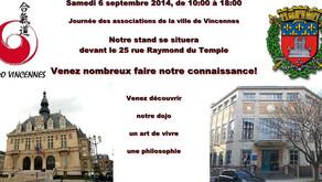 Journée des associations de Vincennes - 6 septembre 2014
