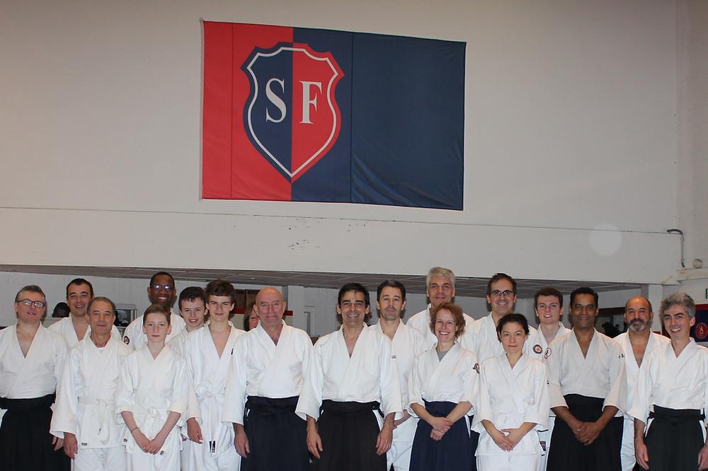 Dojo traditionnel Aikido Paris Auteuil Stade Francais cours gratuits 1 dimanche par mois