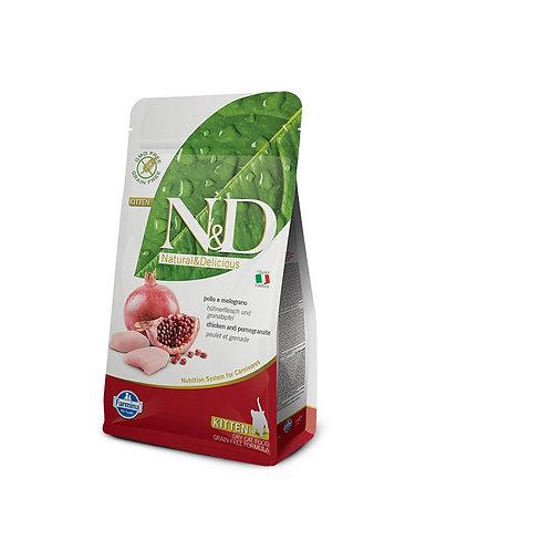 N&D Grain Free - Kylling & granateple Kattunge