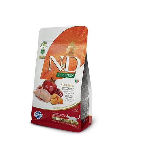 N&D Pumpkin - Kastrert/Sterilisert
