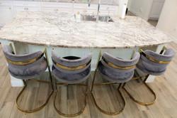 Kitchen counter height stools