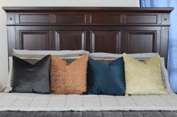 Pillows closeup