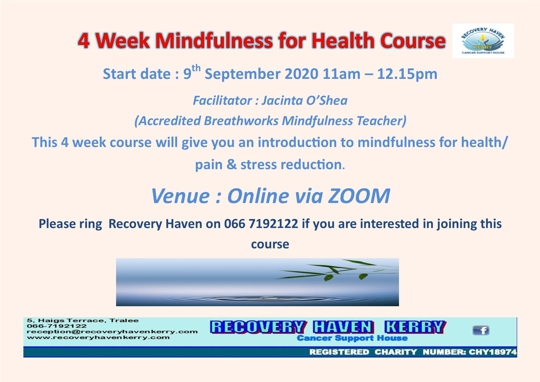 Mindfulness with Jacinta