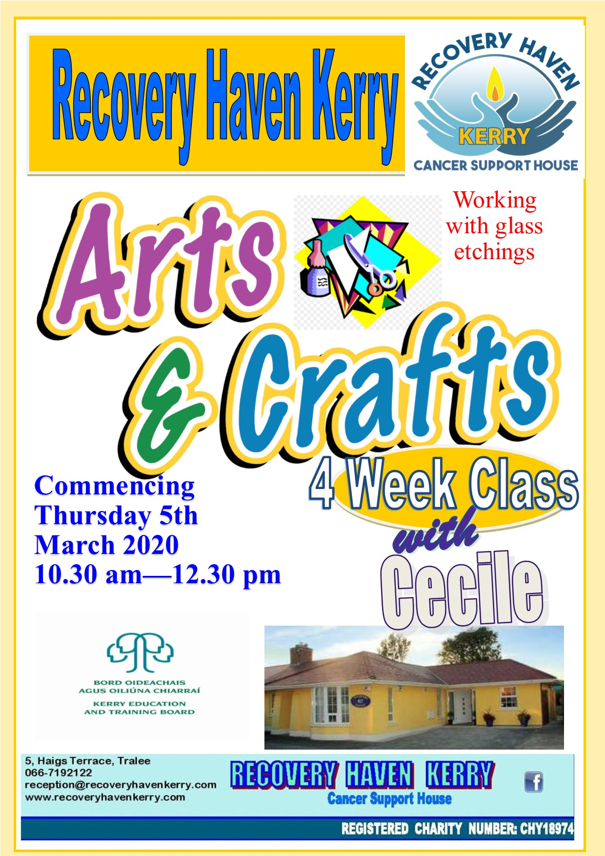 Arts and Crafts course