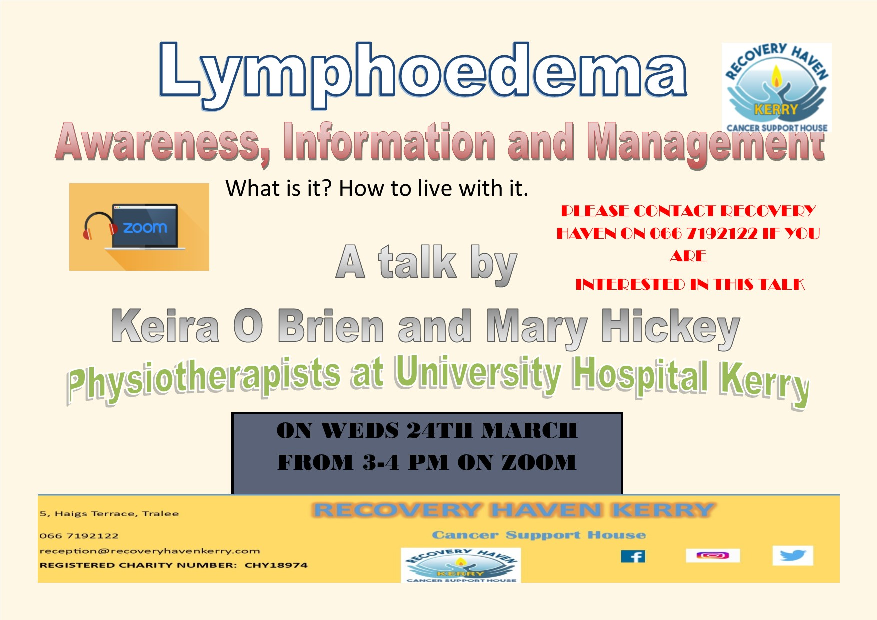 Lymphodema March 2021