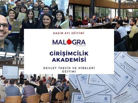Malogra Danışmanlık Girişimcilik Akademisi – Devlet Teşvik ve Hibeleri Eğitimi