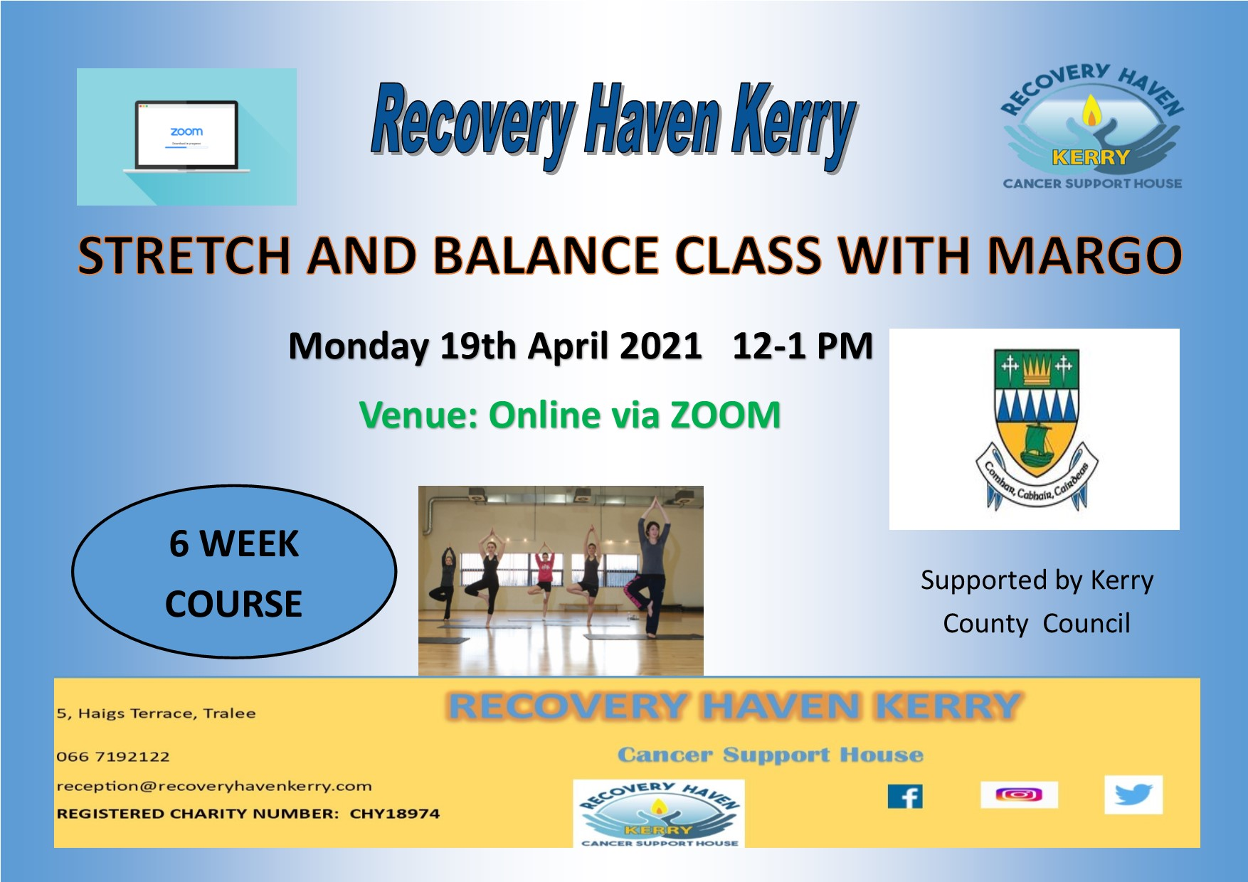 Stretch and Balance class April 2021