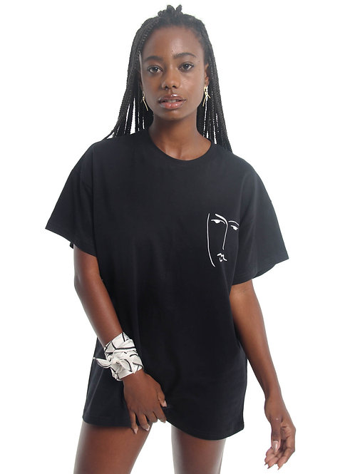 T-shirt Matisse Preta