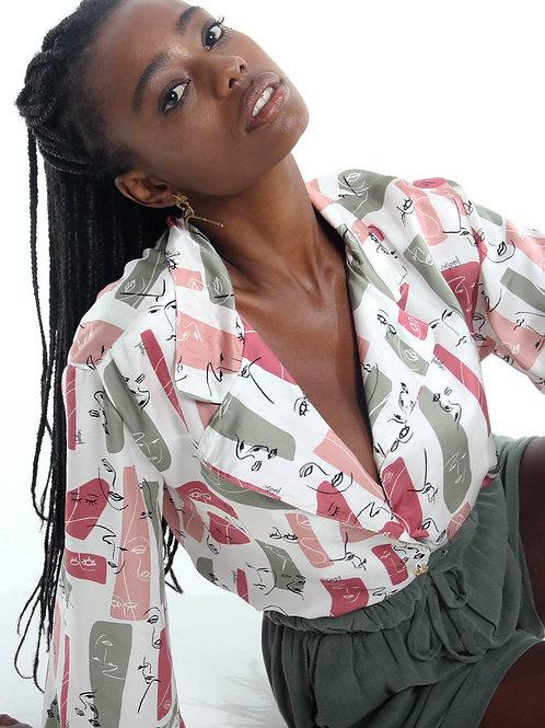 Camisa Seda Matisse