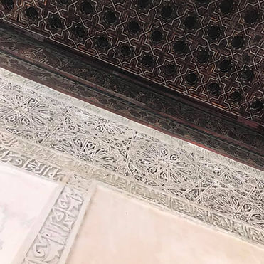 Ceiling in Fez