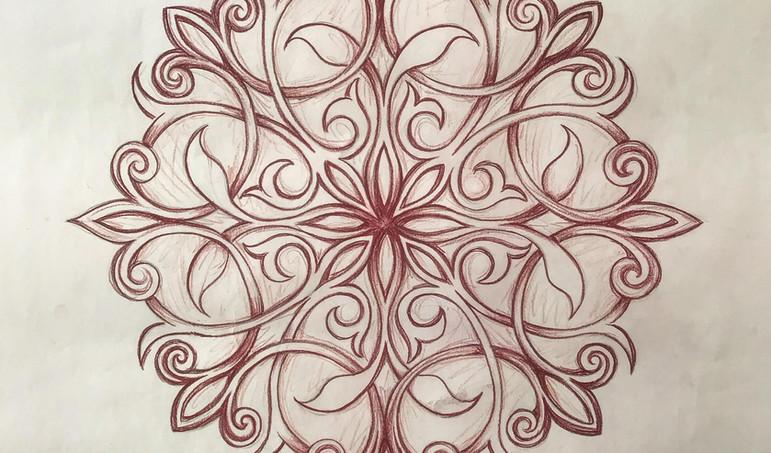 Biomorph Radial Design
