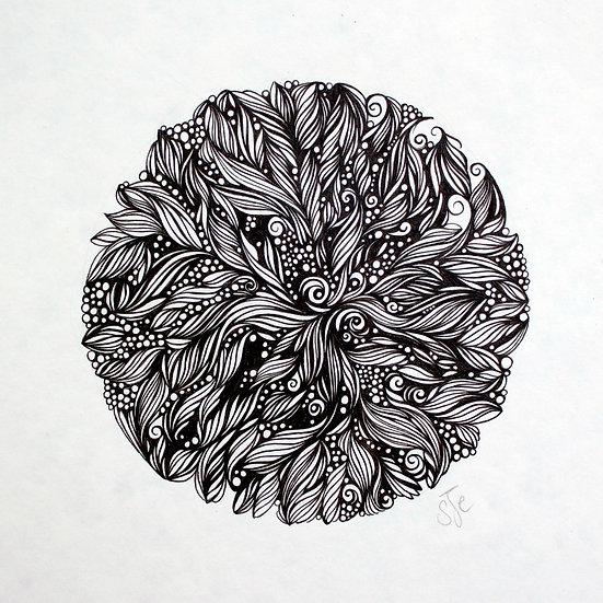 Ganapati ~ Original Drawing