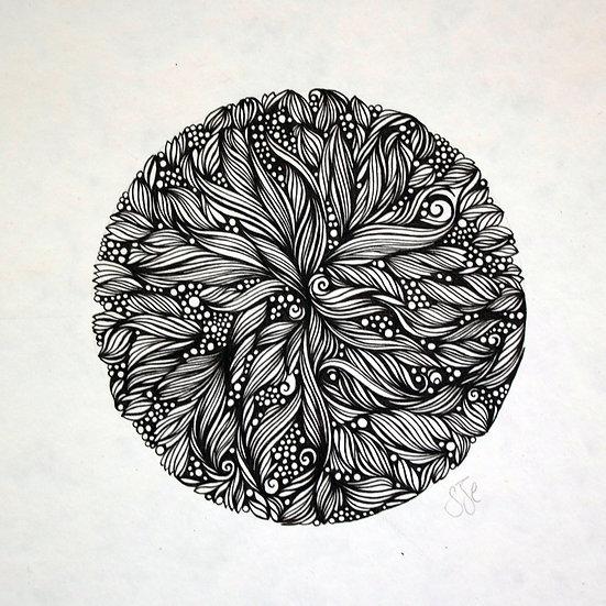 Lakshmi ~ Original Drawing