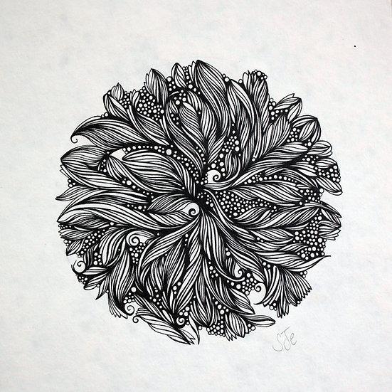 Dhayana ~ Original Drawing