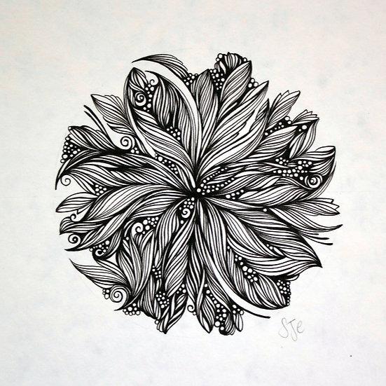Shiva ~ Original Drawing