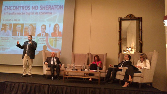 Encontros no Sheraton   Transformação Digital da Economia