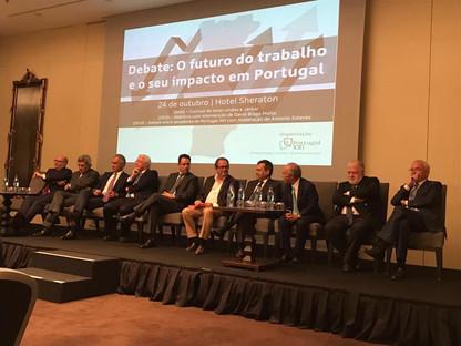 Encontros no Sheraton   O futuro do trabalho e o seu impacto em Portugal