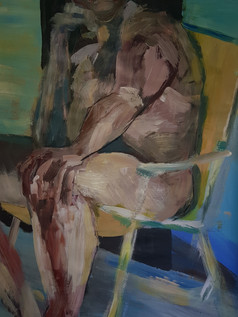 Man in chair