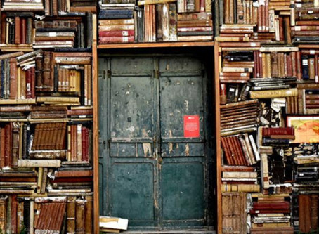 Binnen blijven, met je neus in de boeken