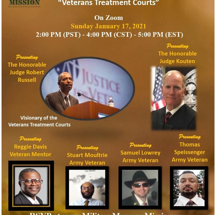 Q & A Panel Discussion - Veterans Treatment Courts