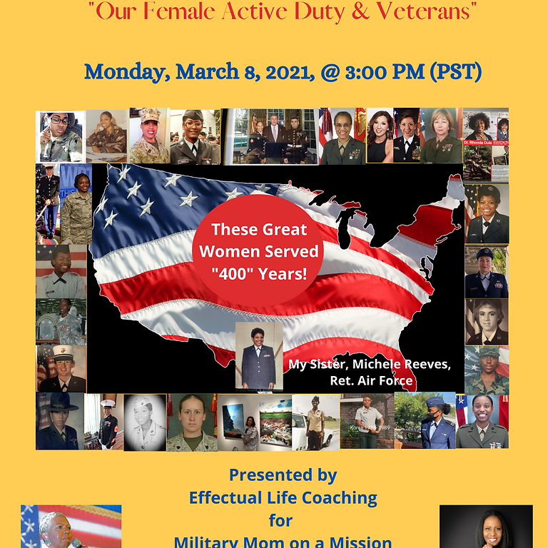 """""""Our Very Own Women in the Military"""""""