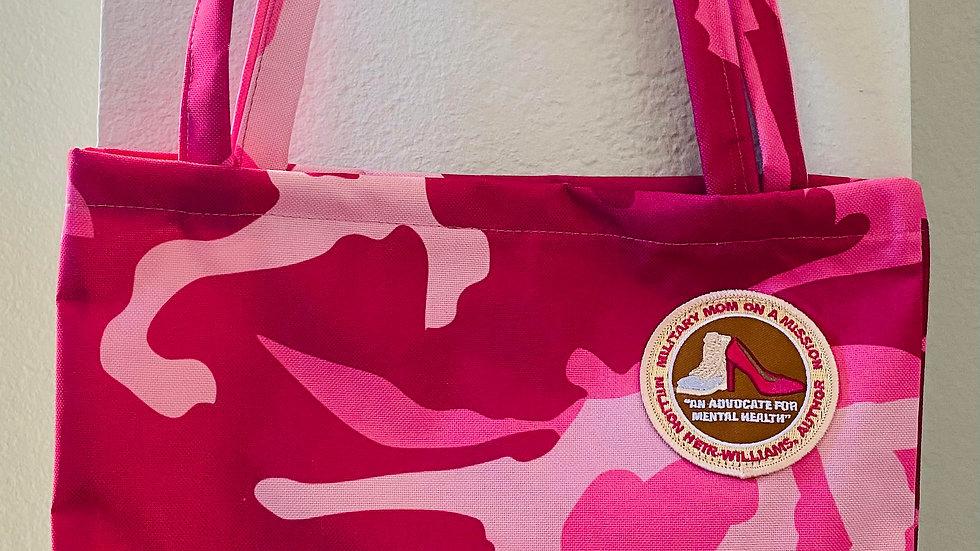 Single Collection Fuschia Tote Bag-#102-SF