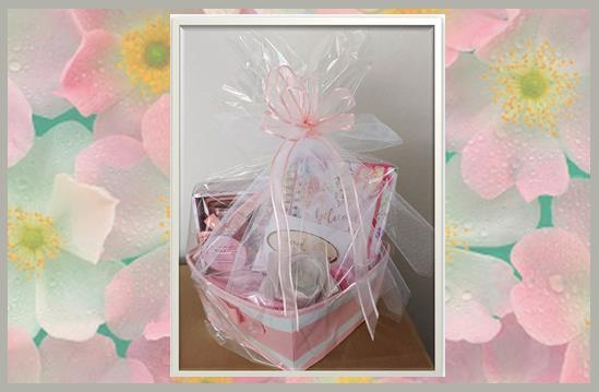 Pink Gift Basket  2 Jpg