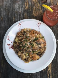 Sage Chicken Marsala