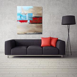 Opposing Sides-Living room