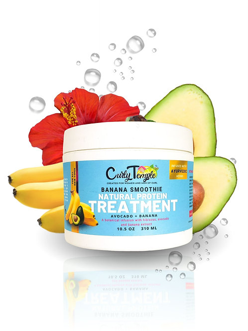 BANANA SMOOTHIE PROTEIN TREATMENT