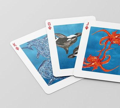 Underwater Cards