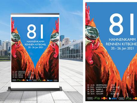 Hahnenkamm-Race Poster Design