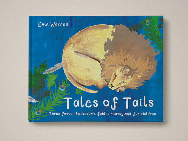 Tales of Tails Book Illustration
