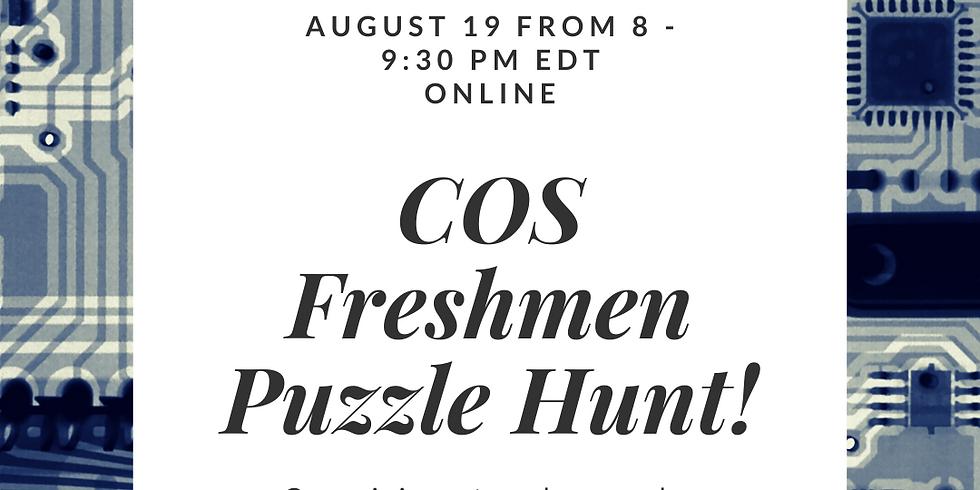 COS Freshmen Puzzle Hunt