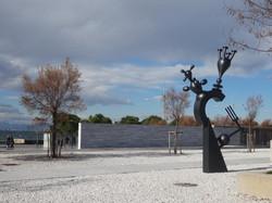 Skulptur Marc