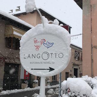 La prima neve del Langotto