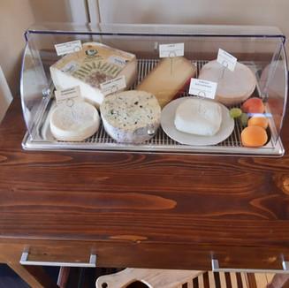 Il nostro carrello dei formaggi