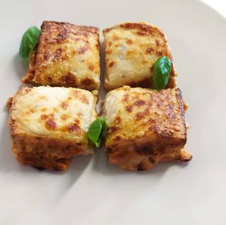 Croque monsieur all'italiana: gusto lasagna