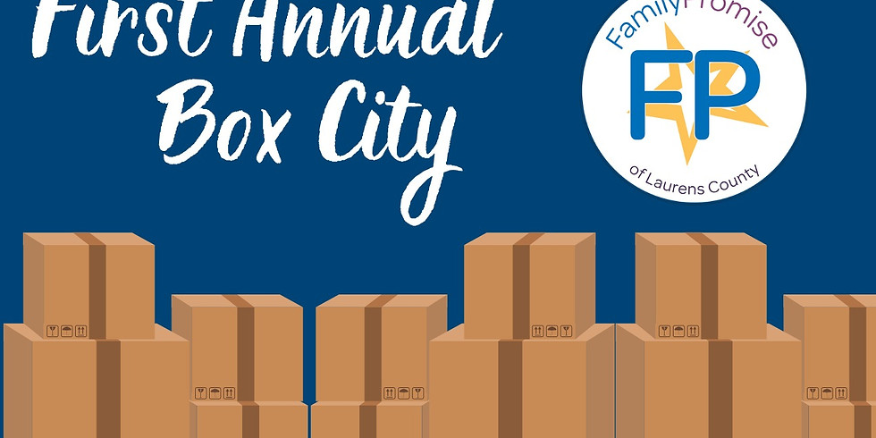 First Annual Box City Fundraiser